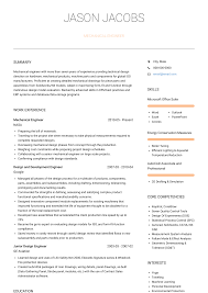 Professional Engineer Resume Samples Mechanical Design Engineer Resume Samples And Templates