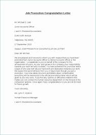 Congratulation Letter For New Job Congratulations Letter On Promotion Impressive 7 How To Write