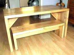 small kitchen table with bench kitchen table with bench set bench seat table table bench seat