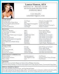 Acting Resume Templates Beauteous 48 Acting Resume Templates Mhidglobalorg