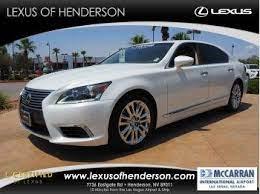 Certified 2014 Lexus Ls 460 L Lexus Ls 460 Lexus Ls Used Lexus