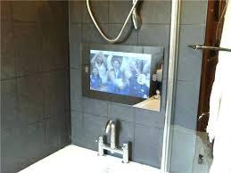 bathroom tv mirror pretty ideas bathroom mirror modest decoration in the smart design behind for tv bathroom tv mirror