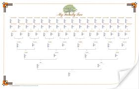 Family Tree Flow Chart Free Family Tree Flow Chart Template I Used Picture Of For Chapter