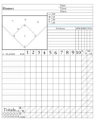 Baseball Roster Template Free Batting Order Lineup Little