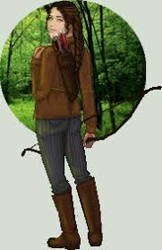 katniss everdeen hunting by edgedolls on  katniss everdeen hunting by edgedolls