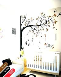 white tree wall decal for nursery white tree wall art nursery wall decals tree white tree  on tree wall art decals vinyl sticker with white tree wall decal for nursery unique kids wall decals jungle