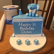 21 Best Half Birthday Images 6 Months Half Birthday Cakes 6 Mo