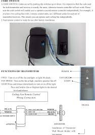 How To Install Remote Control Lighting Ce10318 Ceiling Fan Remote Controller Transmitter User