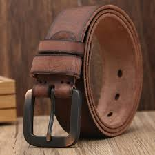 light high quality first layer leather belts for women coffee cowhide mens designer belt genuine leather