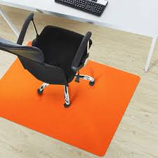 orange home office. fine home polypropylene chair floor protector  colored mat for office and  home 100 bpa phthalate u0026 odor free 30 with orange