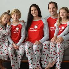 SleepytimePjs SleepytimePJs Christmas Family Matching Fleece Santa Pajama Sets STMF-SANTA