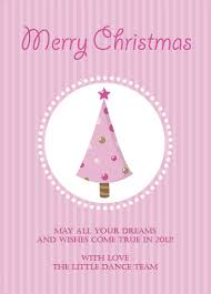 Pink Christmas Card Christmas Cards Pink Christmas Tree Design Australia Online