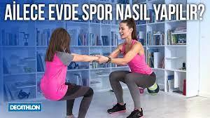 Ailece Evde Spor Nasıl Yapılır? - Decathlon Türkiye - YouTube
