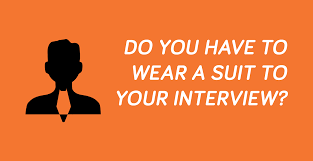 on course to ncl do you have to wear a suit to your interview what to wear to your interview