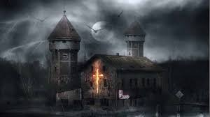 39+] Haunted House HD Wallpaper on ...