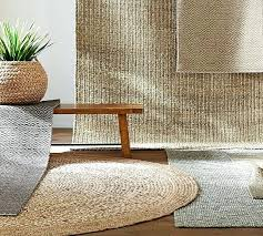 4 round jute rug chunky wool jute rug natural pottery barn intended for remodel 5 2 4 round jute rug