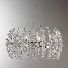 marvellous design 6 light crystal chandelier wonderfull contempo shades of