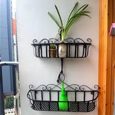 metal hanging baskets for plants metal bucket iron flower baskets hanging basket pots rustic large flowers