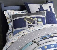 construction quilt pottery barn kids inside boys bedding decor 1