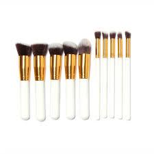 contour brush 10 pcs superior professional soft cosmetics make up brush set woman s kabuki brushes blush brushes maquiagem in makeup brushes tools from