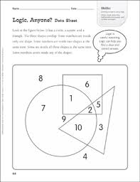 Venn Diagram Practice Sheets Logic Anyone Venn Diagram Tiered Math Practice