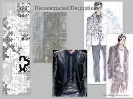 deconstructed decorations mood board by beatrice brandini