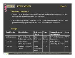 Resume Education Format Resume Template Ideas