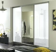 wardrobes 3 in white glasirror a390 saving a130 1 set left white mirrored