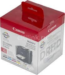 Купить <b>Картридж CANON PGI</b>-<b>2400XL</b>, черный / голубой ...