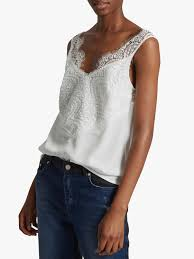 French Connection Light Woven Lace Top Summer White French Connection Light Woven Lace Top Summer White In 2019