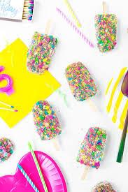 Birthday Cake Ice Cream Bars Recipe Food Ice Cream Birthday