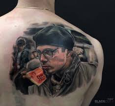 брат сергей бодров тату на спине фото татуировок