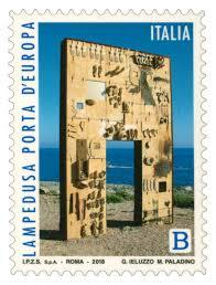 Comunicato Emissione Francobollo Dedicato A Lampedusa Porta Deuropa