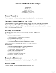 ... Teaching Assistant Resume Example Teacher Writing Http Jobresumesample  Com 420 3a ...