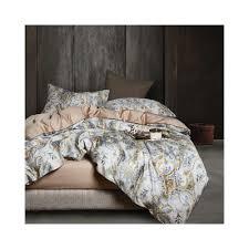 29color luxury egyptian cotton bedding set queen king size 3d flamingo leaf duvet cover bed sheet set fitted sheet parure de lit color color 1 size queen