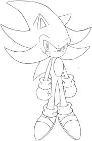 Sonic Free Riders Coloring Pages Dark Sonic Coloring Pages Printable
