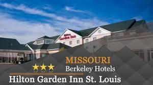 hilton garden inn st louis airport berkeley hotels missouri