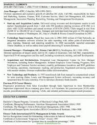 Valuable General Manager Cv Example General Manager Resume Sample