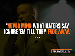 Ti Quotes Unique 48 TI Quotes About Fear Hate And Life Wealthy Gorilla
