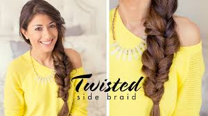 Luxy Hair Style twisted side braid youtube 5789 by wearticles.com