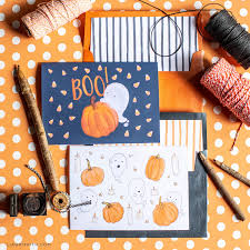 Wish a happy halloween to friends and family with our spooky printable halloween cards. Enjoy These Free Printable Halloween Cards Lia Griffith