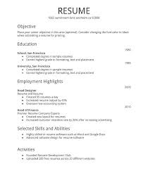 How To Make A Resume Free Best How To Make Resume Template In Word 28 Create Templates Find My