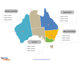 free editable maps free australia editable map free powerpoint templates