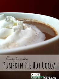 How to Make Pumpkin Pie Hot Cocoa With Your Keurig
