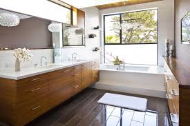 Exellent Modern Country Bathroom Ideas Double Sink With Perfect Design