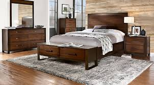 Abbott Hazelnut 5 Pc King Panel Bedroom With Storage