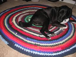 Image result for crochet rugs from t shirts