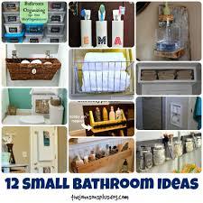 small 12 bathroom ideas. 12 Small Bathroom Ideas   Organizing Tips