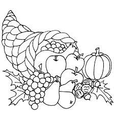 Thanksgiving Color Pages For Toddlers Color Pages For Toddlers Fish