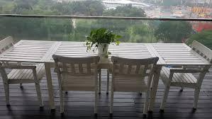 ikea applaro outdoor table and chairs home furniture furniture on carou